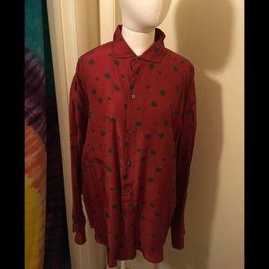Perry Ellis Shirts - 🎺 Perry Ellis 100% Silk Shirt Size L 🎺
